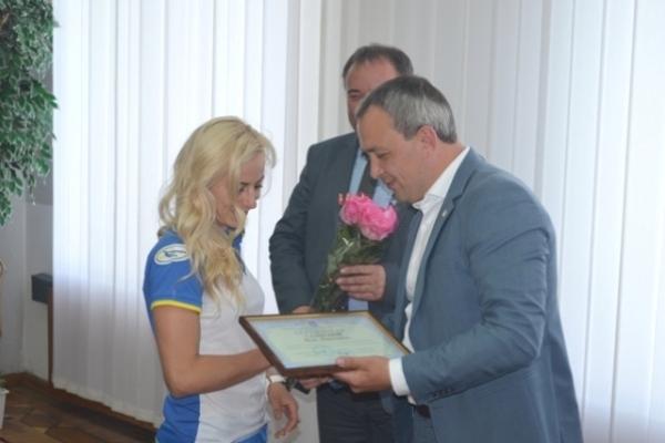 Очільники Рівненщини привітали з досягненнями видатних спортсменів області
