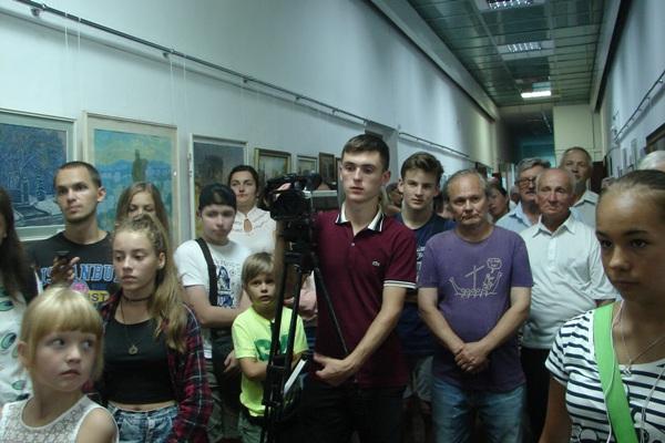 В музеї розгорнули виставку «Рівне у творах митців»