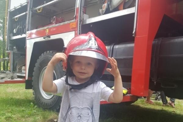 Рівненські рятувальники святкували в смт. Оржів (Фото)