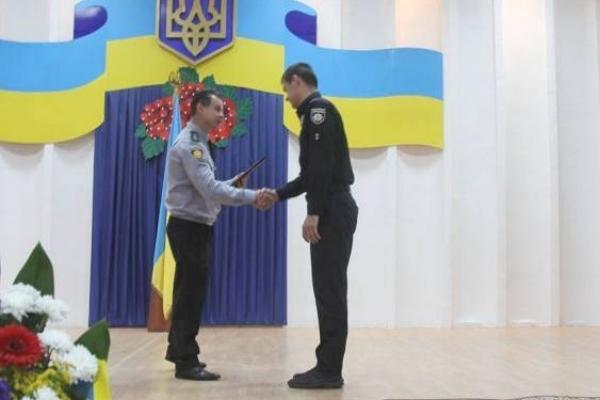 Рівненським патрульним вручили подяки за мужність та професіоналізм