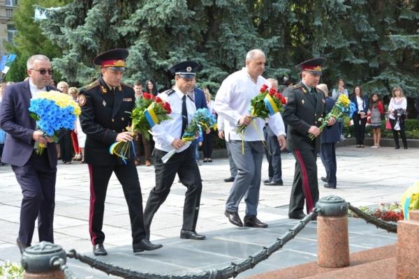 Рівненські рятувальники взяли участь в урочистостях з нагоди 26-ї річниці Незалежності України (Фото, відео)
