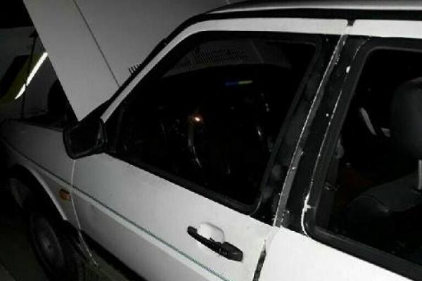 У Рівному патрульні затримали зловмисника, що викрав з авто акумулятор