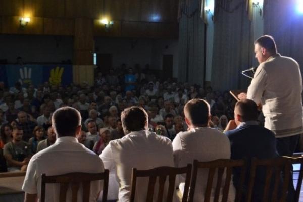 Олег Тягнибок презентував на Рівненщині національний маніфест