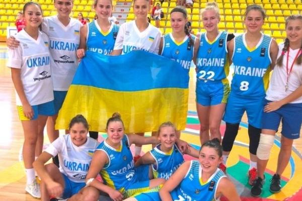 Рівненські баскетболістки у складі української збірної потрапили в четвірку кращих в Європі