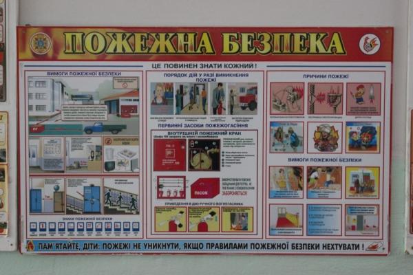 Рівненські рятувальники перевіряють стан пожежної безпеки освітніх закладів