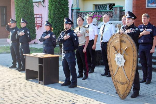 У Рівному нагородили кращих правоохоронців місяця