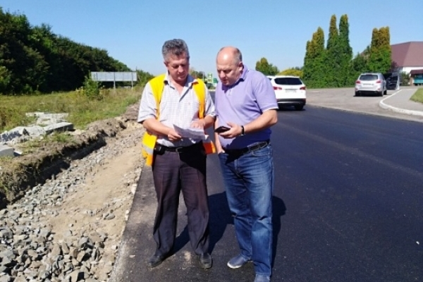 На Рівненщині перевіряють якість доріг