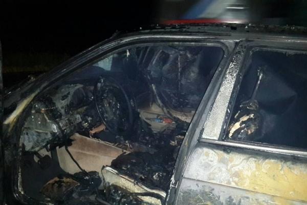 Чергова автопожежа на Рівненщині: цього разу згоріла «BMW» (Фото)