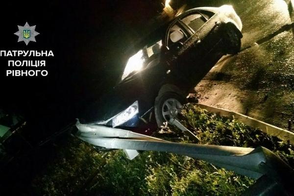 У Рівному п'яний водій сам здався патрульним  (Фото)