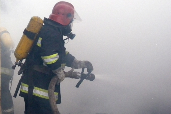 Через дитячі пустощі спалахнула пожежа