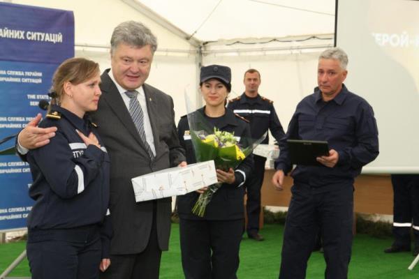 Рівненський офіцер став лауреатом Всеукраїнської акції «Герой-рятувальник року» (Фото, відео)