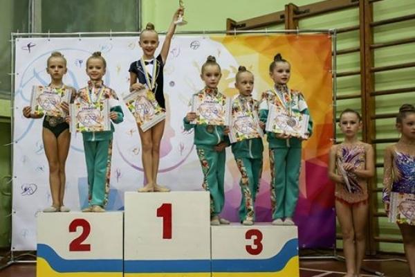 Рівненські гімнастки дали фору суперницям з усієї України (Фото)