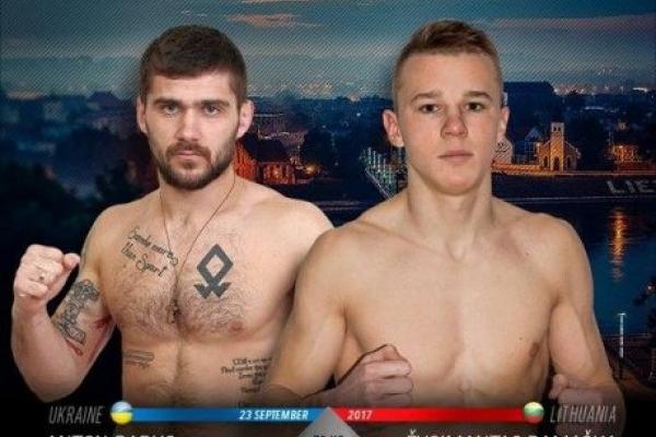 У Литві спортсмен з Рівненщини боротиметься з чемпіоном світу