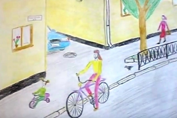 Рівненські школярі отримали нову велопарковку (Відео)