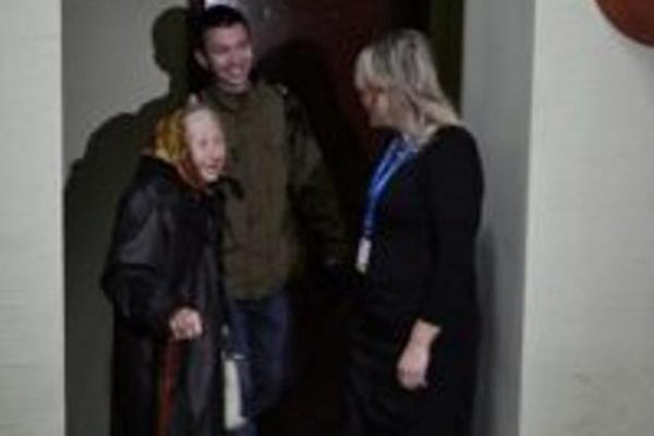 85-річна бабуся - найстарша жителька Рівненщини,яка звернулася за закордонним паспортом (Фото)