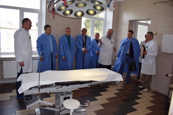 Здолбунівська лікарня стала на крок ближче до Європи