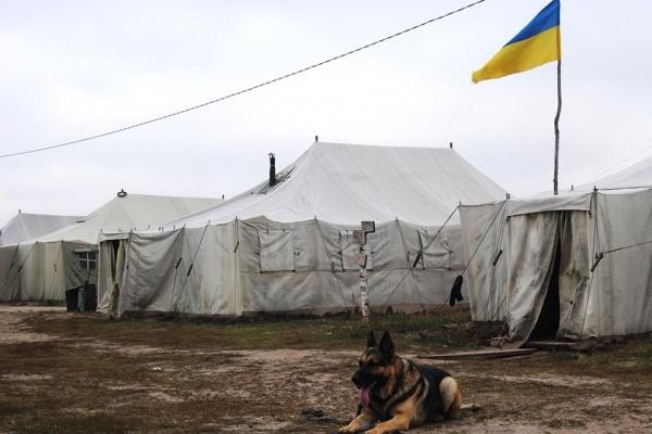 В армії на Рівненщині служить бойовий Барон (Фото)