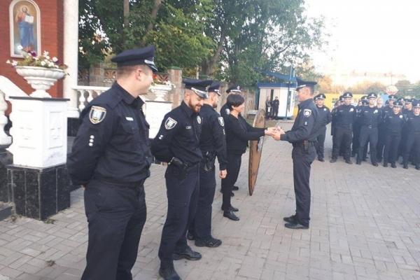 Іванна Смачило вручила нагороди кращим патрульним (Фото)