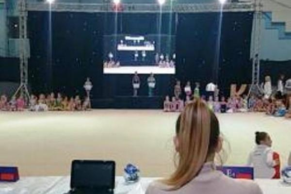 Гімнастки СК «Золота осінь» вже мають перші результати в Ужгороді (Фото)