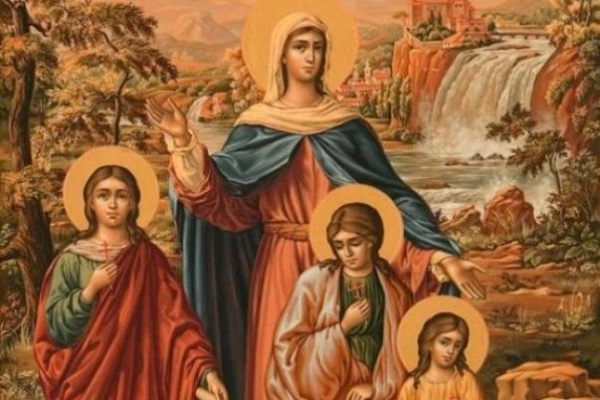 Рівняни вшановують пам'ять святих мучениць Віри, Надії, Любові та їхньої матері Софії