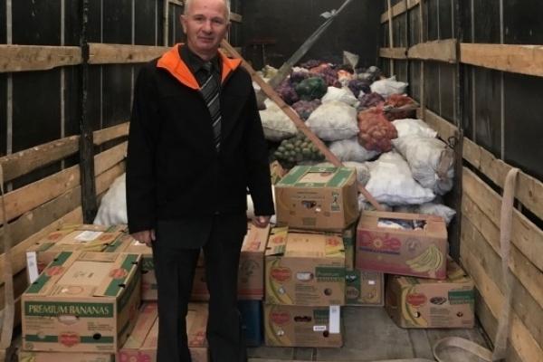 47 тонн продуктів зібрали два райони Рівненщини для бійців АТО
