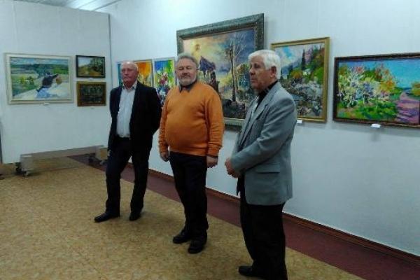 У Рівному відкрилася виставка художніх полотен місцевих художників