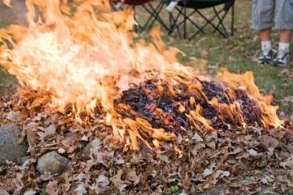 За спалення сухої трави чи листя каратимуть чималим штрафом