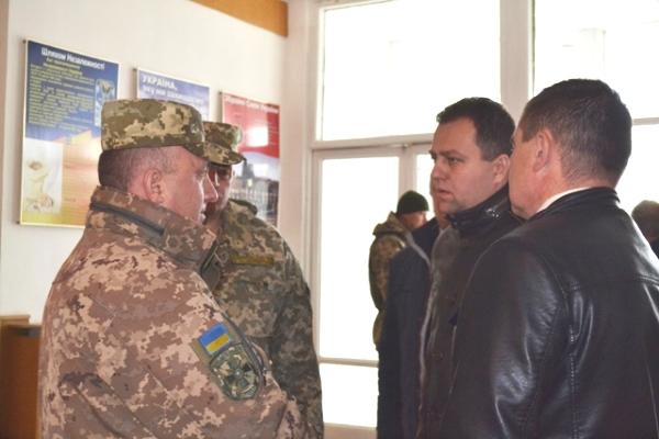 На ротацію із зони АТО повернулися військовослужбовці з Рівненщини