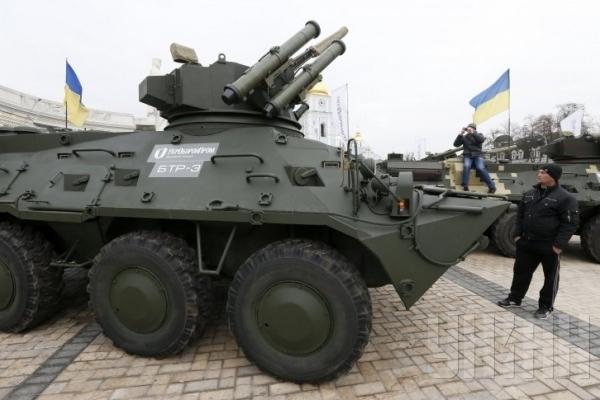Рівнян запрошують на виставку військової техніки