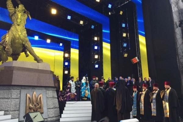 У м. Дубно відкрили пам'ятник борцям за волю України (Відео)