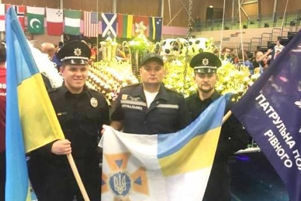 Команда поліції Рівненщини повернулася з Нідерландів із перемогою