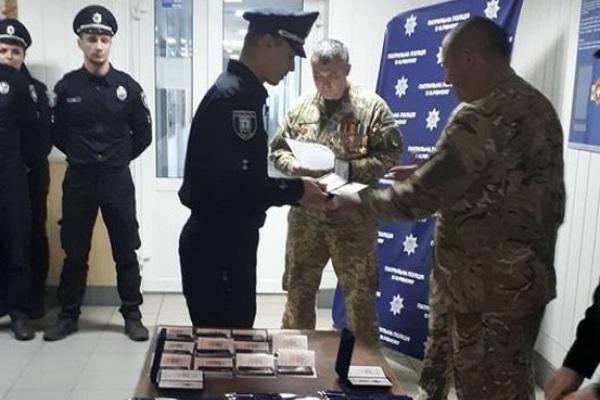 У лавах патрульної поліції Рівного несуть службу майже півсотні воїнів АТО  (Фото)