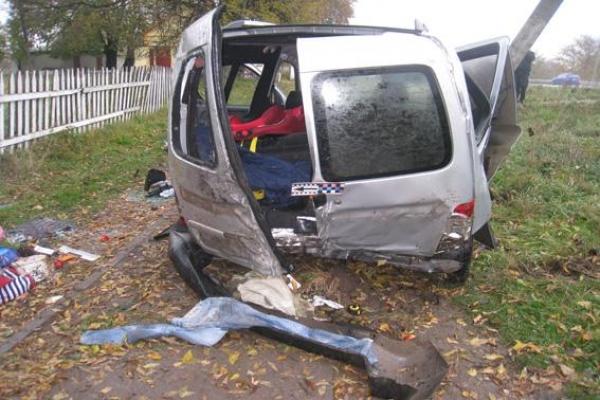 На Дубнівщині у ДТП потрапила сім'я з Тернопільщини, є потерпілі (Фото)