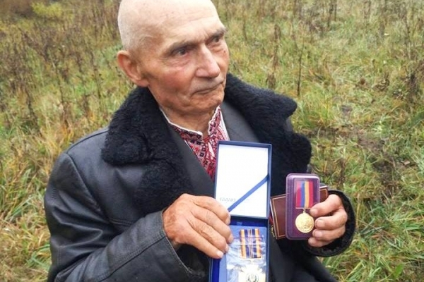 На Рівненщині біля Степаня освятили пам'ятник на місці загибелі командира підрозділу СБ УПА «Зеленого»