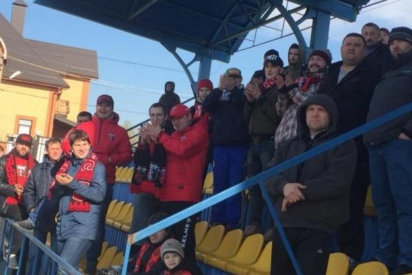 «Верес» здобув  путівку до чвертьфіналу Кубка України.