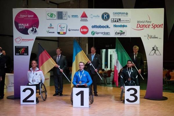 Спортсмени з Рівненщини взяли участь у чемпіонаті світу зі спортивних танців на візках (Фото)