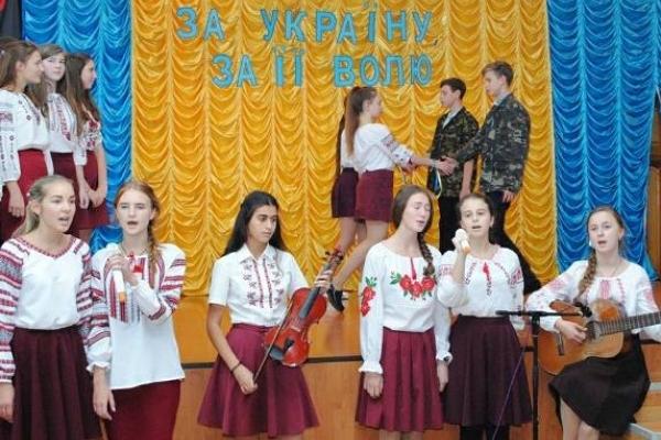 У  Рівненському обласному ліцеї відбулося традиційне свято  – посвята в ліцеїсти