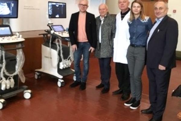 Лікарі Рівненського діагностичного освоюють нову діагностичну техніку