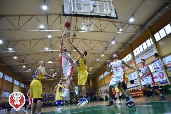 Рівненські баскетболісти перемогли суперників зі столиці