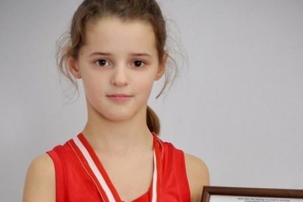 Школярка з Полісся Діана Вежичанін стала призеркою з сумо на Чемпіонаті Європи