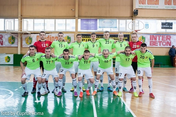 «Кардинал-Рівне» зіграв внічию з львівською «Енергією»