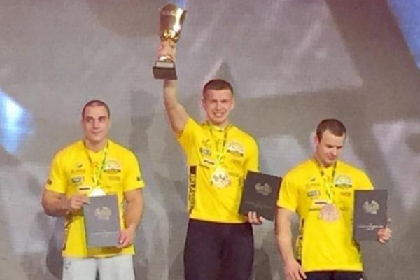Рукоборець із села Оженин Острозького району тріумфував на змаганнях у Польщі
