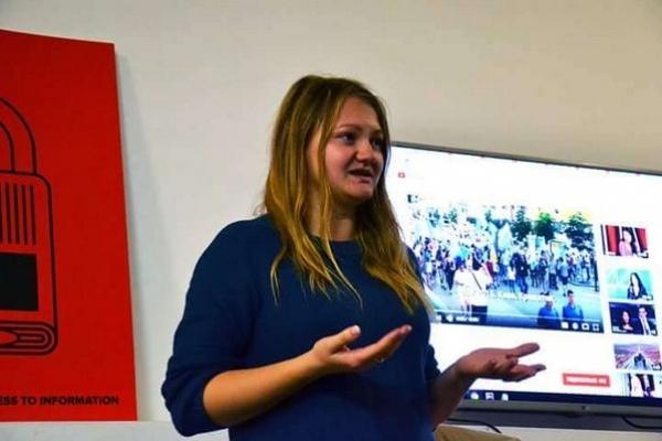 Студентам Острозької академії розповідали, як створювали канал UA:КРИМ (Фото)