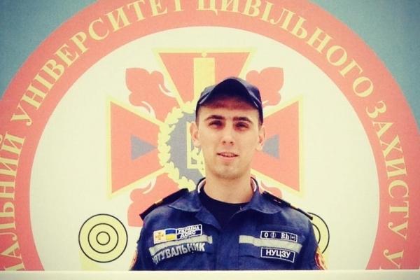 Нагрудним знаком «За відвагу у надзвичайній ситуації» нагородили майбутнього рятувальника з Рівненщини (Фото)