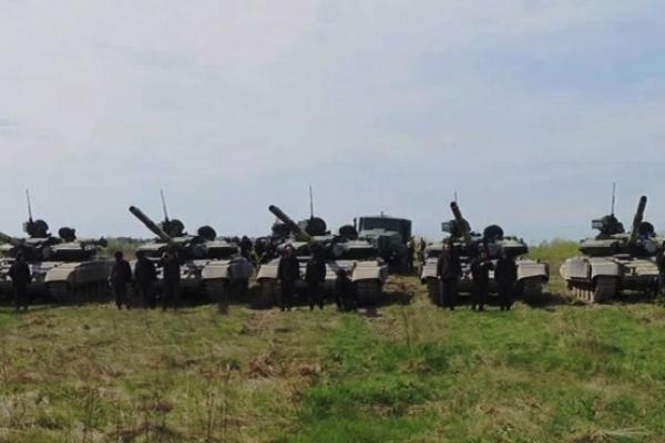 На рівненському полігоні танкісти ОК «Захід» готуються громити ворога (Відео)