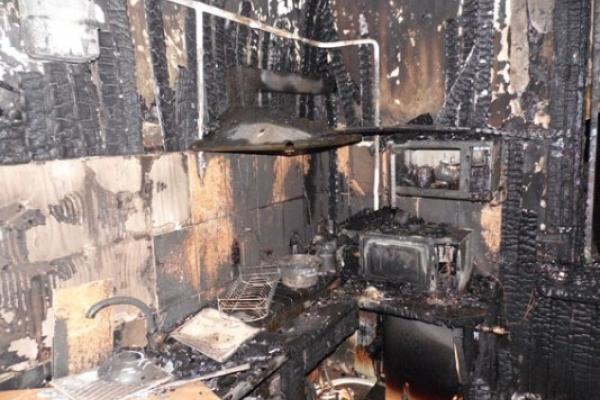Упожежі на Рівненщині загинуло двоє малолітніх дітей (Фото)