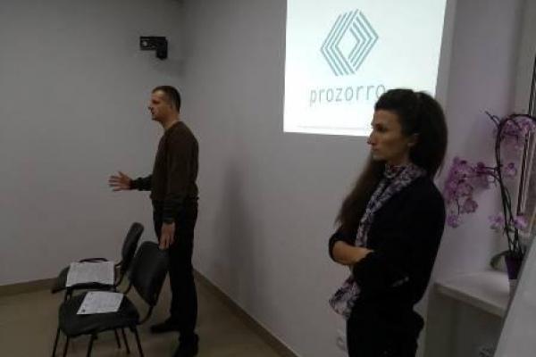 У Рівному навчали працювати з ProZorro