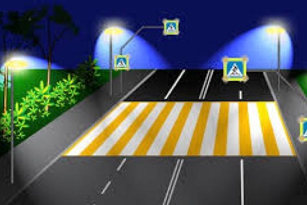 На Рівненщині облаштують нові пішохідні переходи з датчиками руху