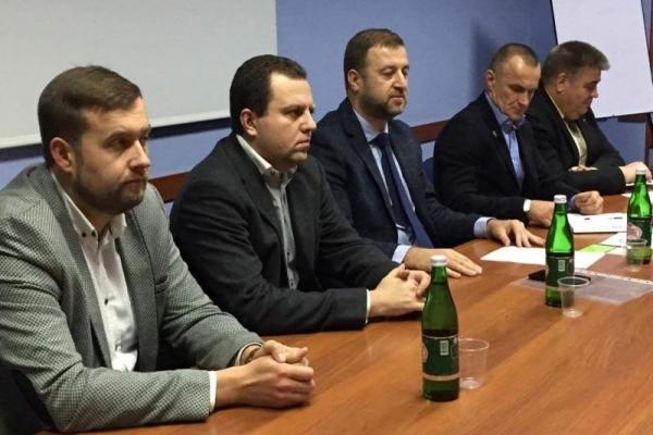 У Рівному пройшли установчі збори Громадської спілки «Рівненська обласна федерація футболу»