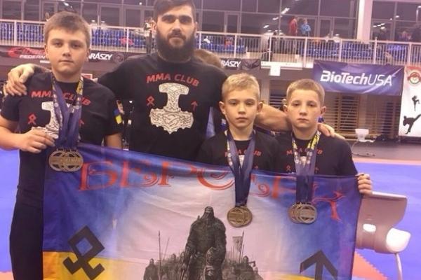 Спортсмени з Рівненщини здобули медалі на Кубок Світу з панкратіону